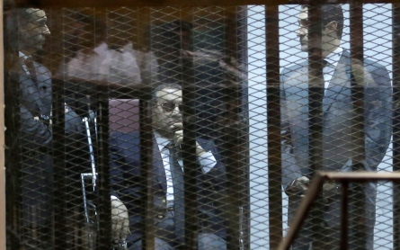 Egyptian court sentences Mubarak, sons to three years in jail