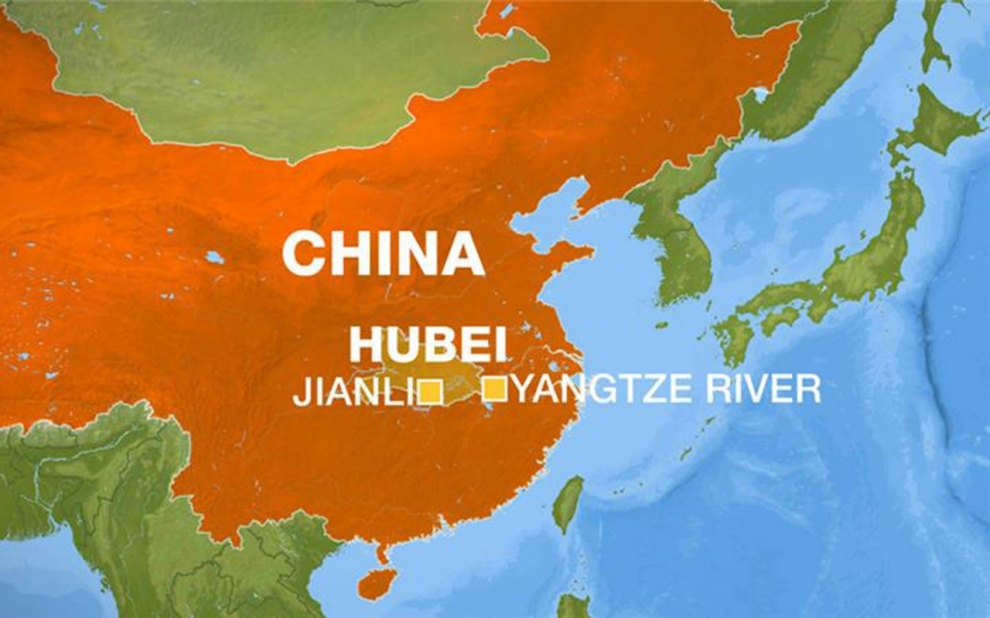 Tourist boat sinks in chinas yangtze river al jazeera america china yantze locator publicscrutiny Image collections