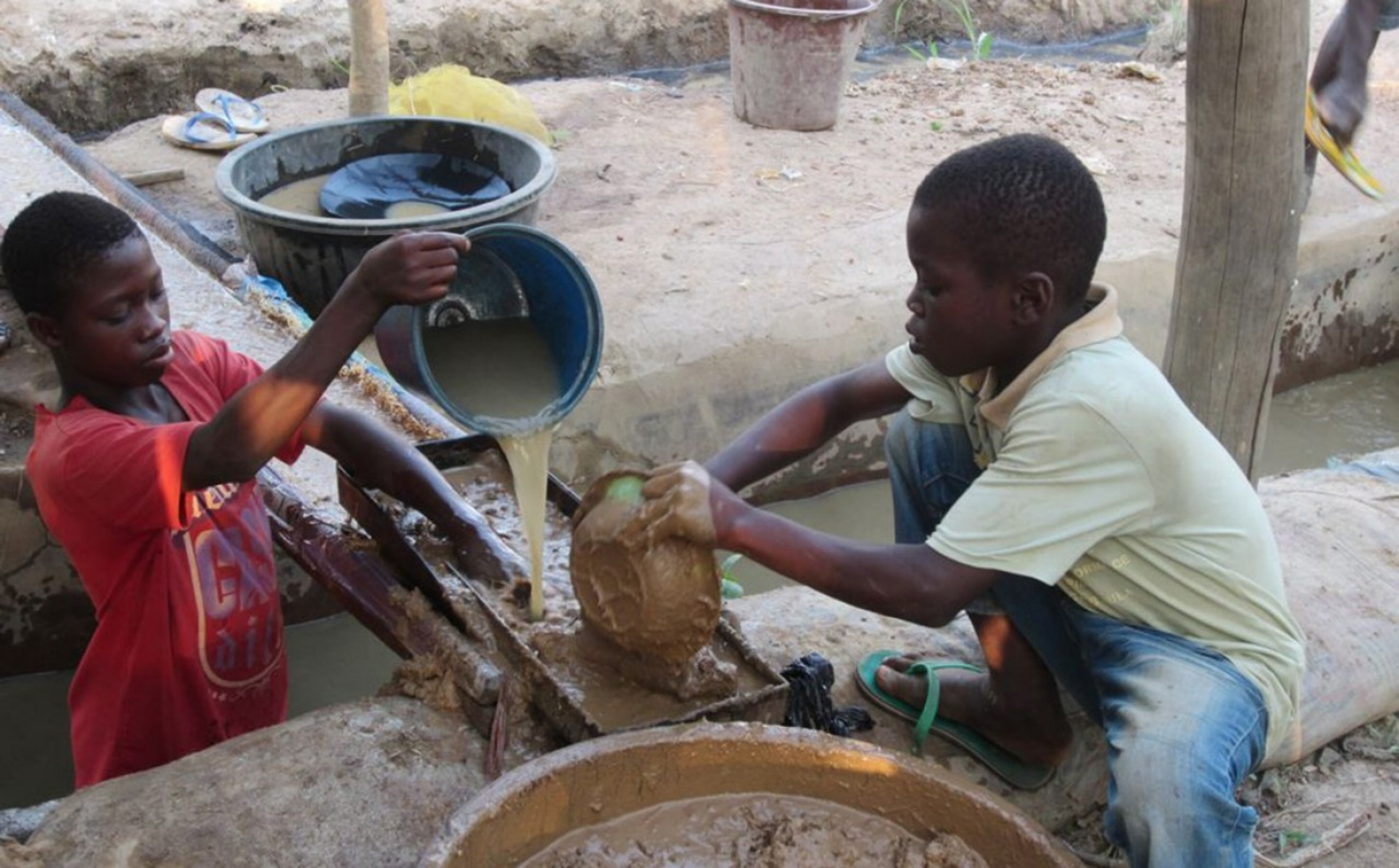 rights group  ghana to end child labor in mines