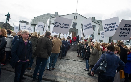 Class war comes to Iceland