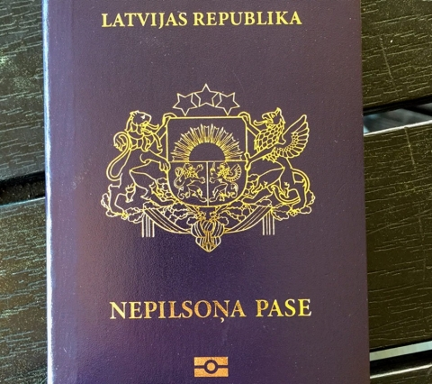 Non-citizen passport