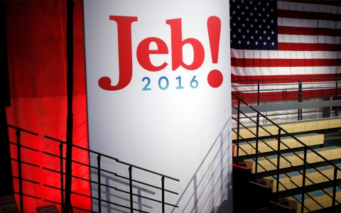 Thumbnail image for Jeb Bush launches presidential bid, touting record as Fla. governor