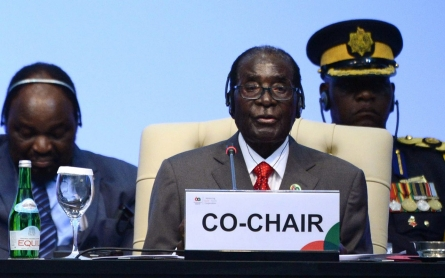 African Union chief Mugabe says ICC unwelcome in Africa