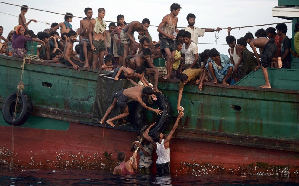 Andaman Sea, Rohingya, Thailand