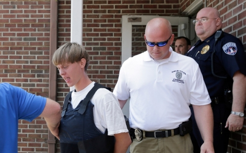 Thumbnail image for Families forgive Charleston church shooting suspect