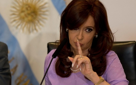 Argentina's president stepping away from public office when term ends