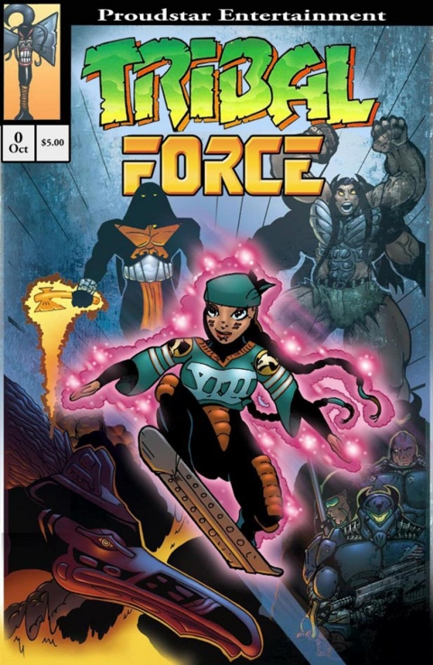 Jon Proudstar, Tribal Force, Native American comics