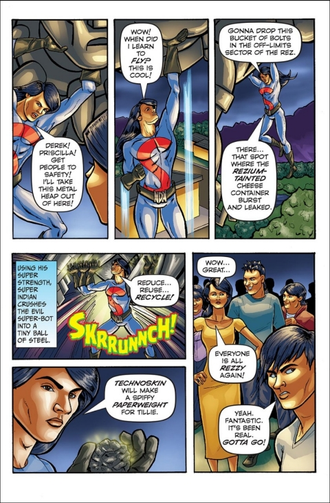 Arigon Starr, Super Indian, Native American comics