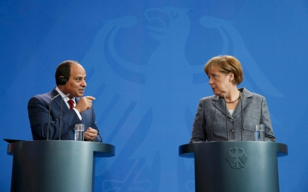 Germany offers two-faced welcome to Egypt's Sisi