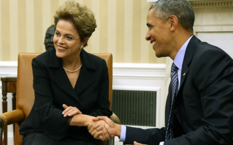Thumbnail image for US, Brazil vow 'ambitious' climate targets