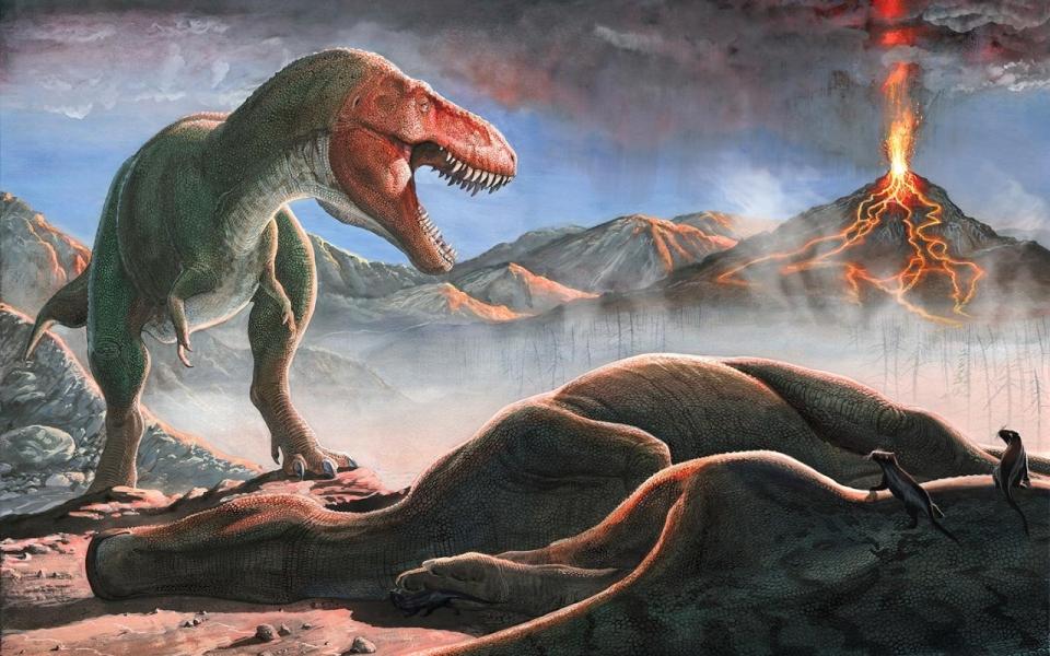 Image - Spinosaurus VS Tyrannosaurus-Rex.jpg   Death Battle Fanon ...
