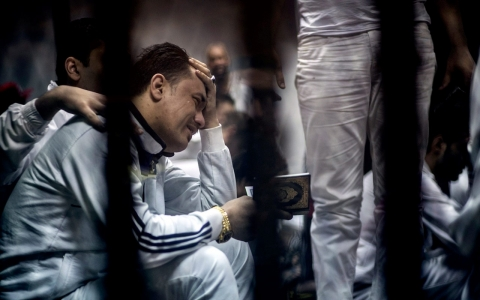Thumbnail image for Egypt court upholds death sentences for 11 soccer fans