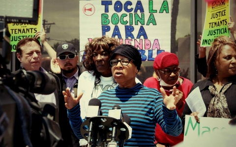 Thumbnail image for Black tenants say greed, discrimination at play in mass LA eviction