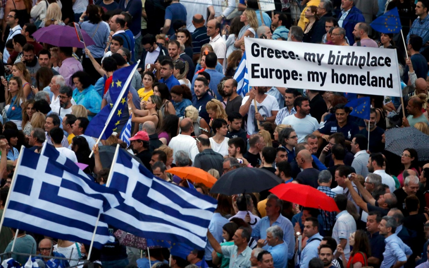 the greek crisis the crisis A greece was the first country to ask for help, and the eurozone was totally unprepared for it on all levels-political, technological, emotional, whatever.