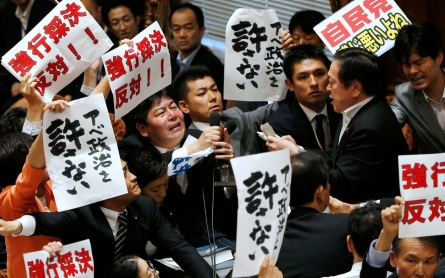 Japan divided over legislation to expand military's role