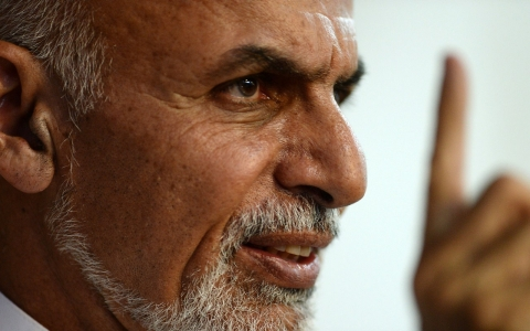 Thumbnail image for Afghan president says talks with Taliban are solution to strife
