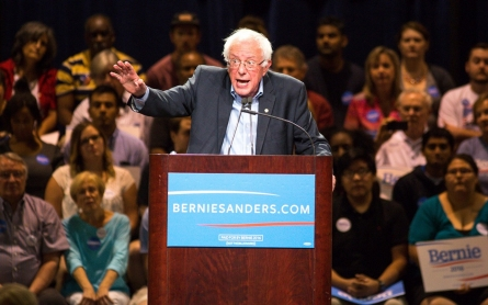 Bernie Sanders confronts a deep divide within the progressive movement