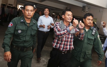 Cambodia activists sentenced to up to 20 years for 'insurrection'