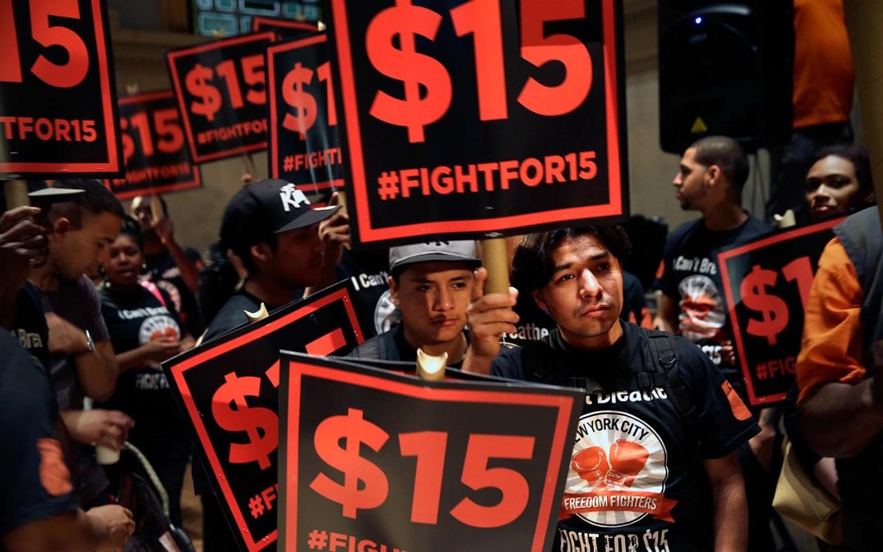 Minimum Wage Ny Fast Food Workers