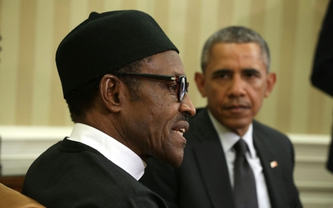 Thumbnail image for US 'aiding and abetting' Boko Haram by refusing Nigeria arms, says Buhari