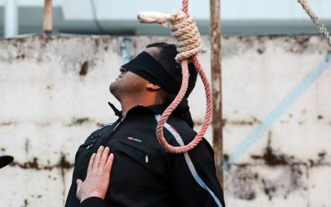 Thumbnail image for Iran sees 'shocking' surge in executions, rights group says