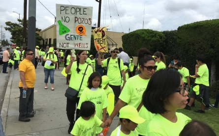 California communities mount protests against fracking, oil drilling