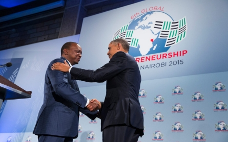 Obama in Kenya: 'Africa is on the move'
