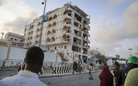 Thumbnail image for Al-Shabab launches deadly attack on Mogadishu hotel