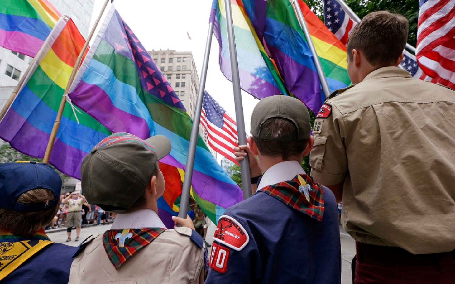 from Kai barring gay boy scout leaders
