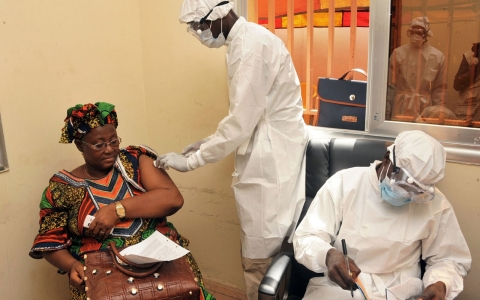 Thumbnail image for Ebola vaccine shows 100 percent success rate in clinical trial
