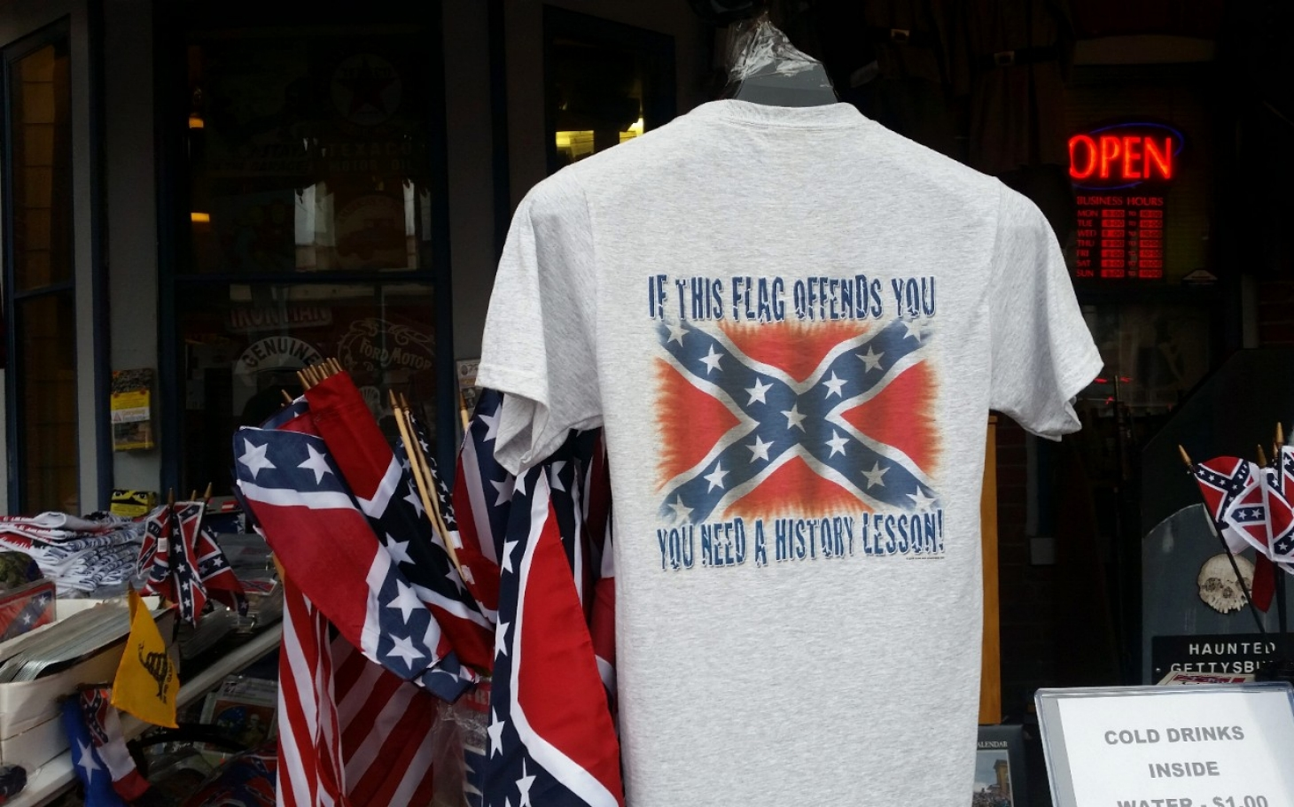 gettysburg grapples with confederate flag al jazeera america