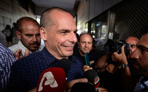 Thumbnail image for Greek finance minister resigns after decisive 'no' vote on bailout