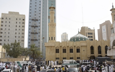 Saudi brothers arrested over Kuwait mosque bombing