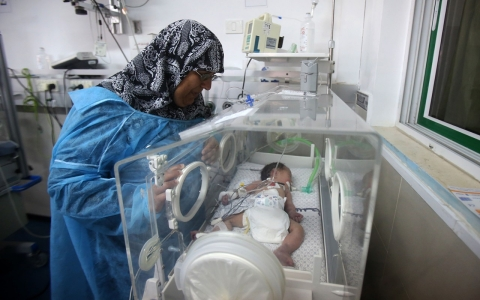 Thumbnail image for Gaza infant mortality rate rises for first time in 53 years