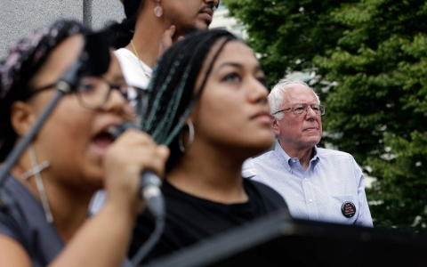 Thumbnail image for Black Lives Matter dismisses criticism over Sanders disruption