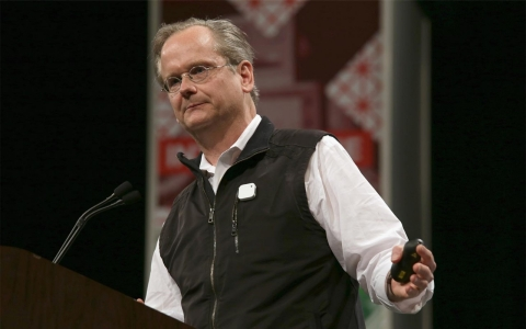Thumbnail image for Campaign finance activist Lawrence Lessig explores presidential run
