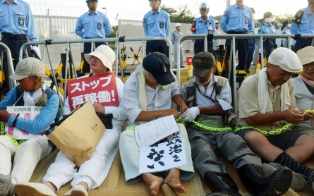 Protests as Japan's Kyushu Electric restarts Sendai reactor