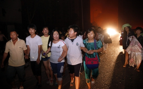 Thumbnail image for Deadly explosion rocks Tianjin in northern China