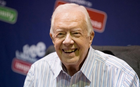 Thumbnail image for Jimmy Carter says he has cancer, revealed by recent surgery