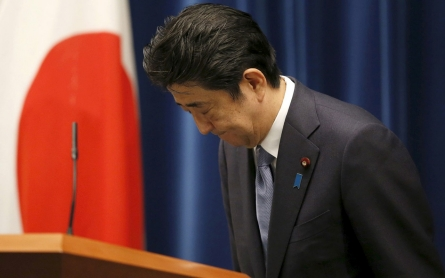 Japan's Abe expresses 'grief' but doesn't apologize for WWII atrocities