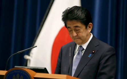 Japan's PM expresses 'utmost grief' over WWII but stops short of apology