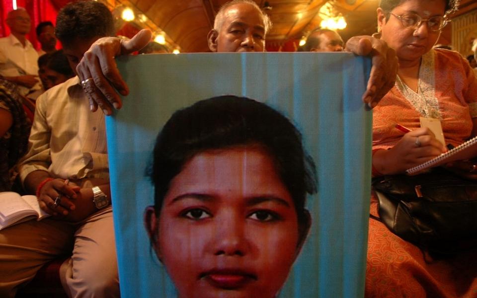 Missing person portrait
