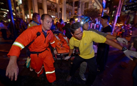 Thumbnail image for Bomb blast rips through central Bangkok; at least 19 killed