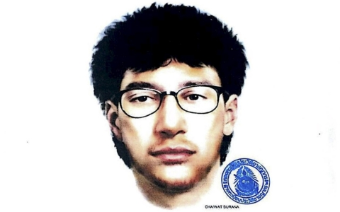Thumbnail image for Sketch of Thai bomb suspect released as police warn he was part of network