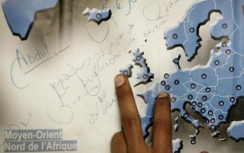 Thumbnail image for Far away, so close: For migrants, reaching Italy is only the start