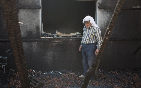 Thumbnail image for Palestinian family struggles to pay expenses after deadly arson attack