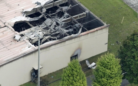Blast rocks US military warehouse in Japan