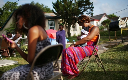 'Stark' racial divide in views on post-Katrina recovery, study finds