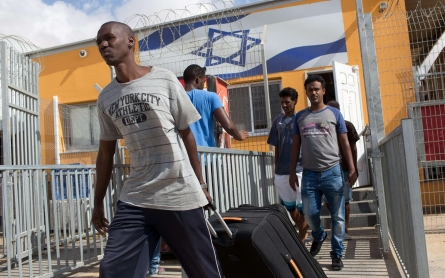 Israel releases hundreds of African asylum seekers from detention center