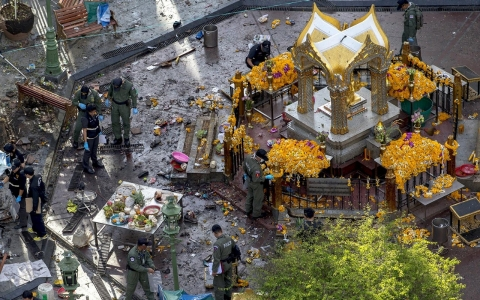 Thumbnail image for Thai police arrest 'foreign' suspect in Bangkok shrine bombing